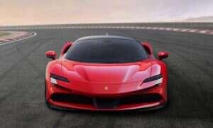 SF90 Stradale to nowa hybryda plug-in od Ferrari