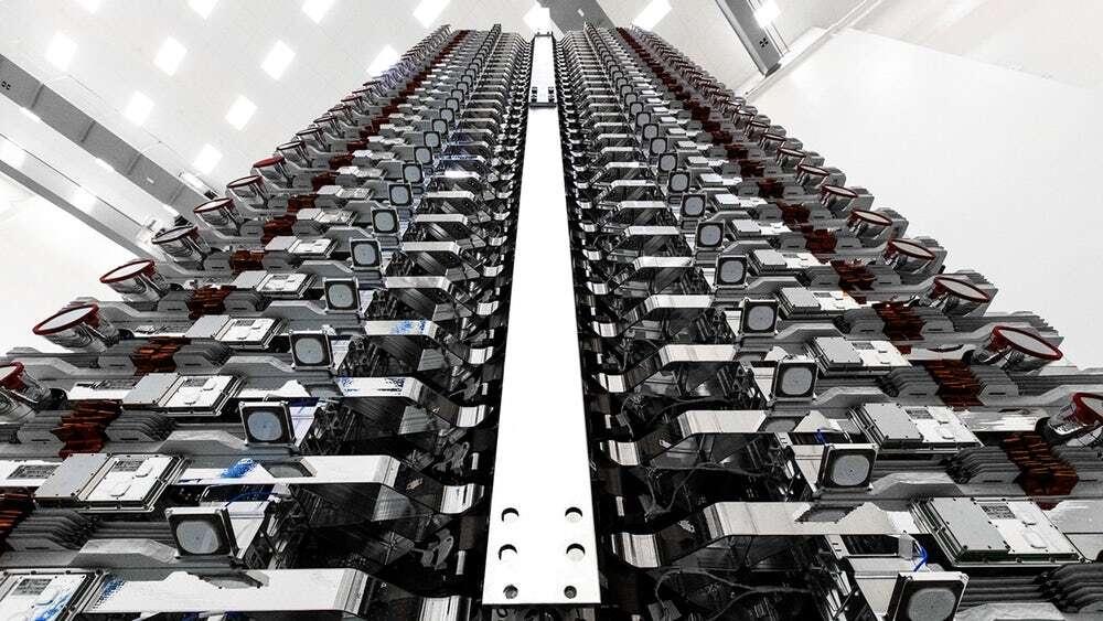 SpaceX wystrzelił już pierwsze satelity z myślą o Internecie Starlink