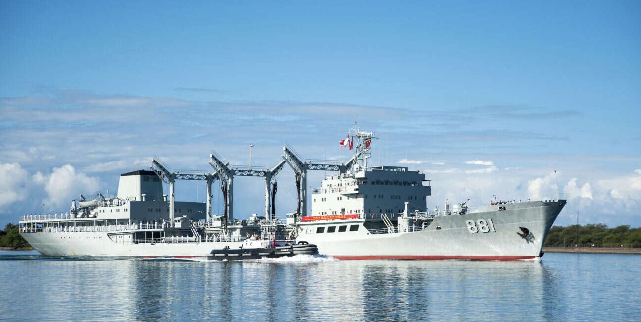 Chiny mają już więcej okrętów wojennych niż USA