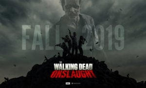 The Walking Dead Onslaught na VR już teraz zapowiada się na hit