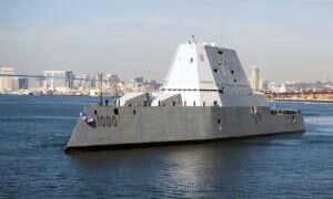 Trzy okręty Zumwalt przejdą ogromną przemianę, witając na pokładzie broń laserową