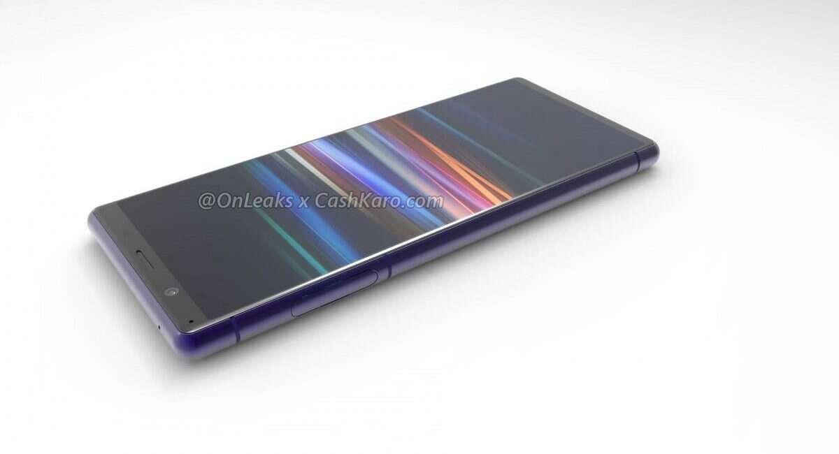 Sony Xperia 2, render Sony Xperia 2, wygląd Sony Xperia 2, design Sony Xperia 2, zdjęcie Sony Xperia 2