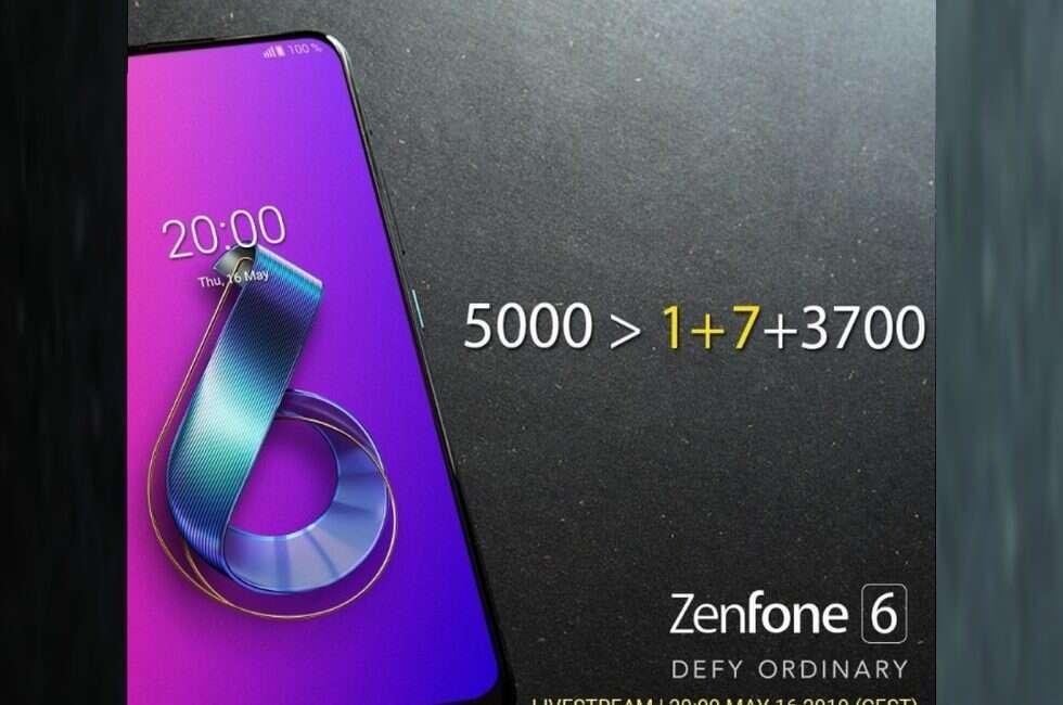 Asus Zenfone 6, Zenfone 6, OnePlus 7, Asus OnePlus 7, Zenfone 6 specyfikacja, specyfikacja Zenfone 6