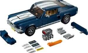 Składamy Lego Creator Ford Mustang – przyjemny powrót do przeszłości
