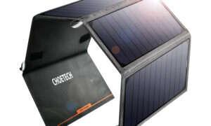 Test ładowarki słonecznej Cheotech 24W Solar Charger