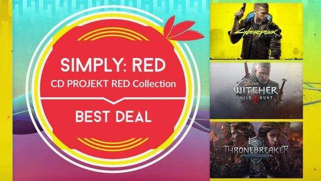 Kolekcja wszystkich gier CD Projekt Red