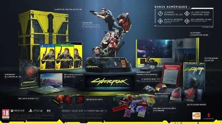 Wyciekła edycja kolekcjonerska Cyberpunk 2077