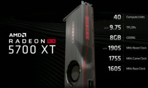 Radeon RX 5700 XT na poziomie GeForce RTX 2070 w 3DMark