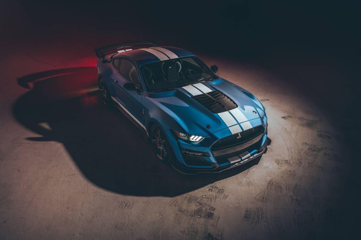 "Silnik V8 w Shelby GT500 na 2020 rok z rekordowymi możliwościami ""na litr"""