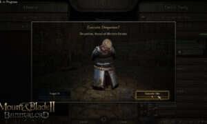 Egzekucje w Mount & Blade II: Bannerlord wpłyną na cały świat gry