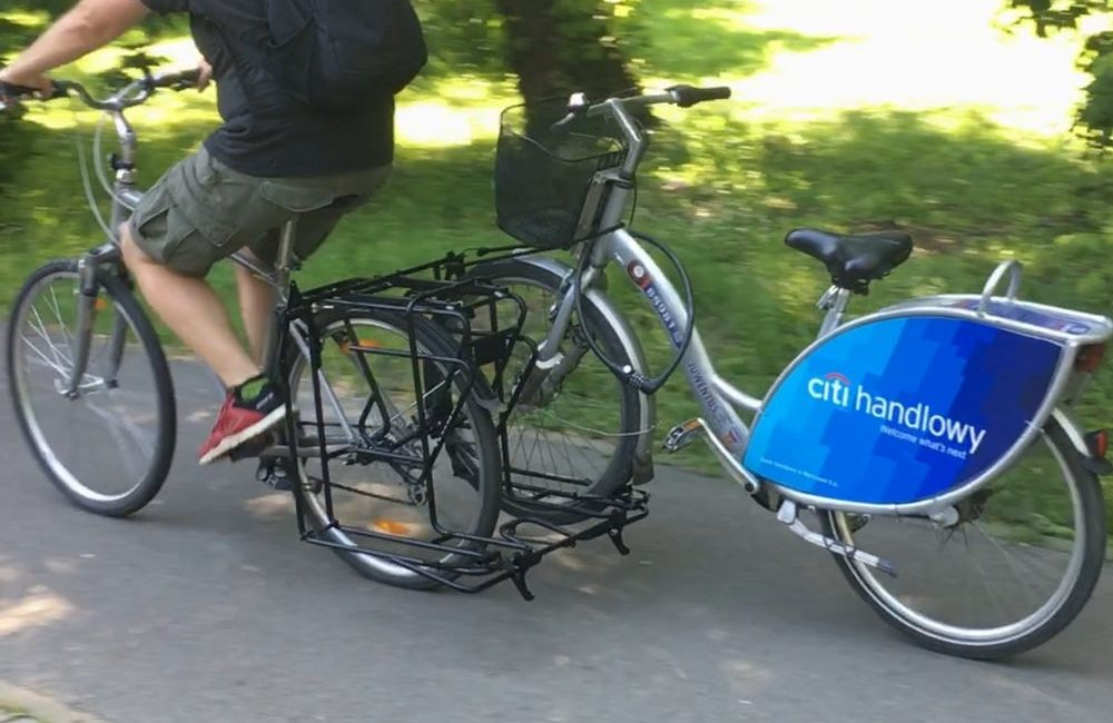 Polska firma Exozox wpadła na pomysł z holowaniem rowerów