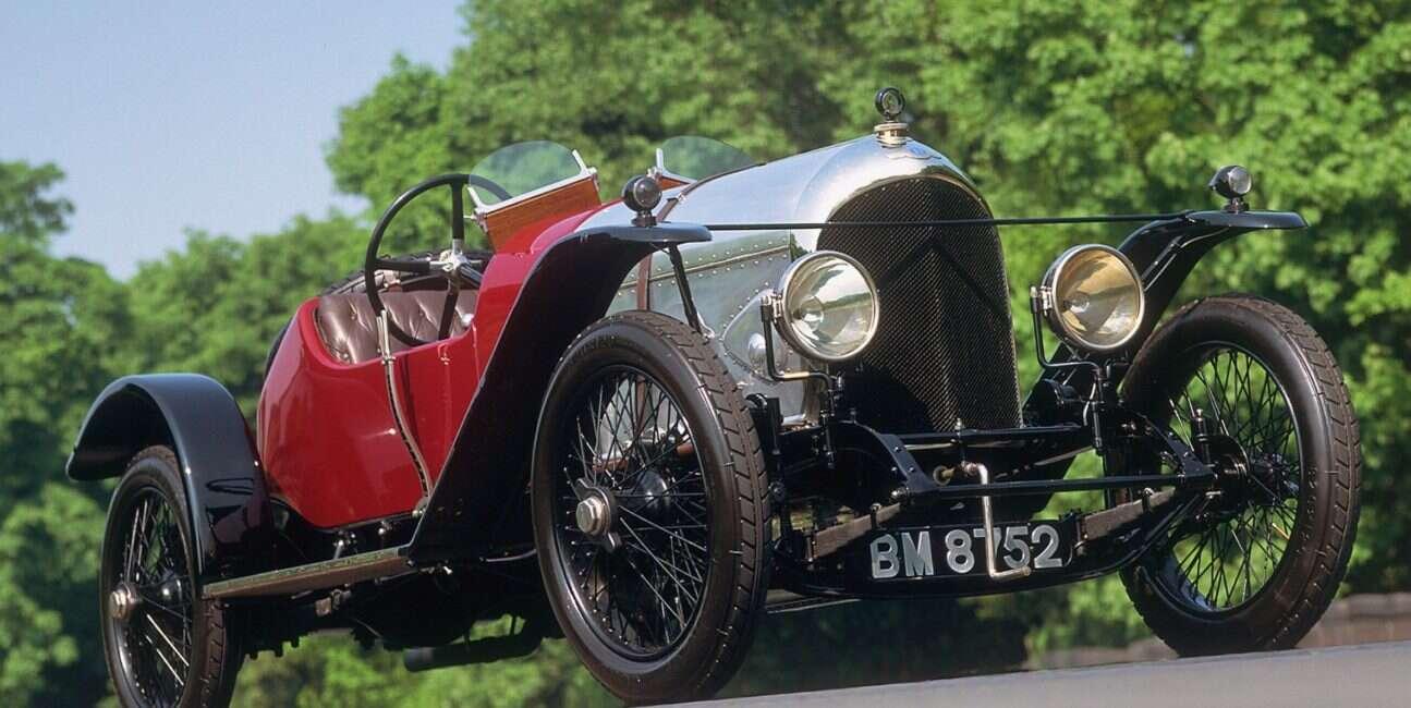 najstarszy na świecie Bentleynajstarszy na świecie Bentley