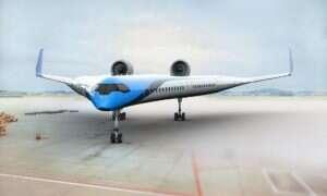 Na pokładzie samolotu Flying-V pasażerowie zasiądą w skrzydłach