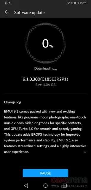 Huawei Mate 20 X, aktualizacja Huawei Mate 20 X, emui Huawei Mate 20 X, system Huawei Mate 20 X, update Huawei Mate 20 X, Huawei Mate 20 X EMUI 9.1