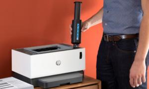 HP prezentuje drukarkę laserową bez kartidży