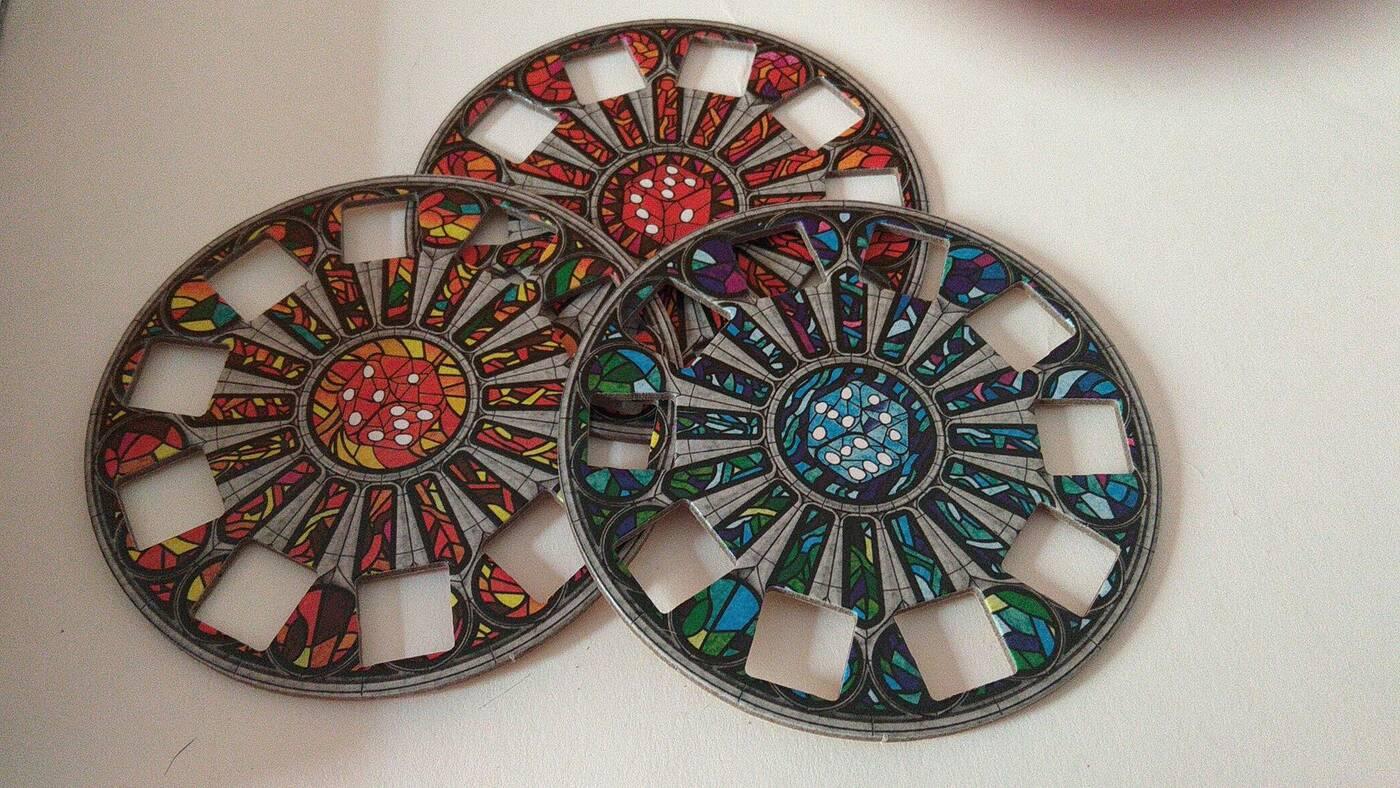 Sagrada: Jeszcze Więcej Szkła planszetki