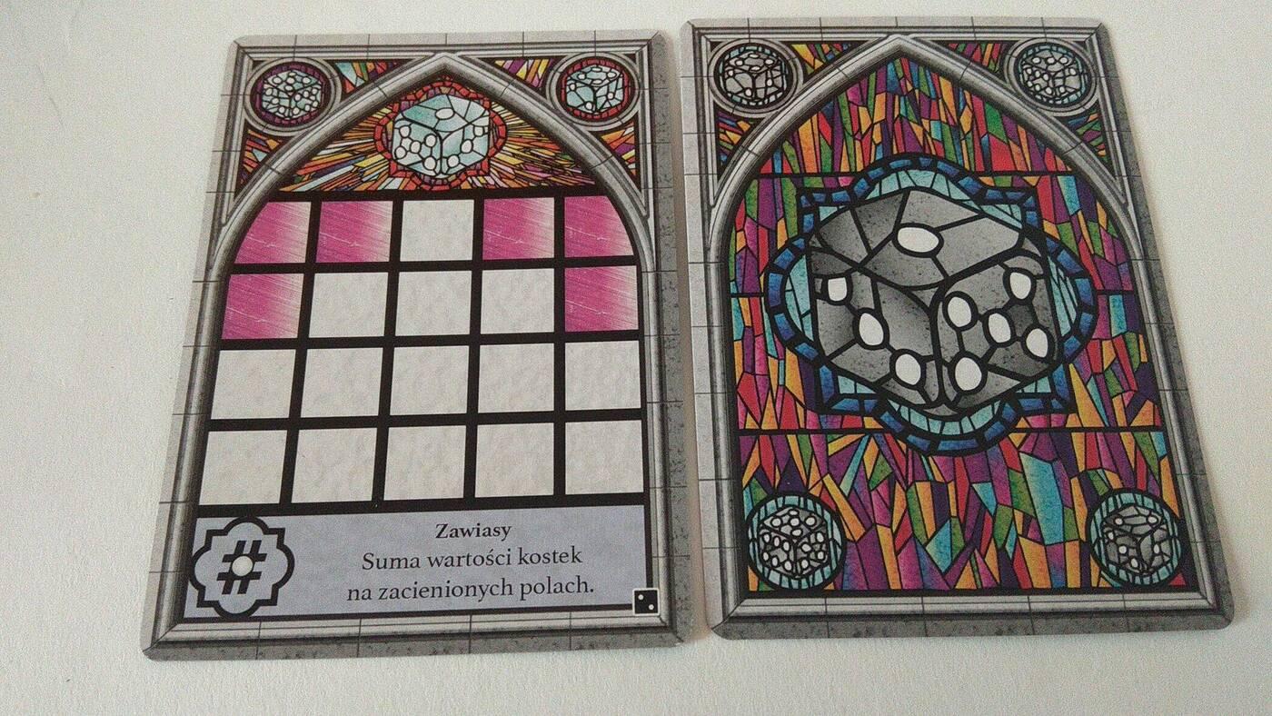 Sagrada: Jeszcze Więcej Szkła karty