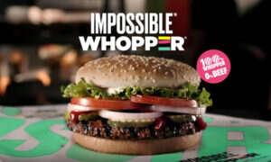 Impossible Foods stara się nadążyć za popytem na Impossible Burger