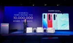 Ogromna sprzedaż smartfonów Huawei z serii P30