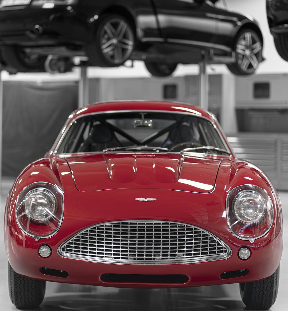 Klasyczny DB4 GT Zagato
