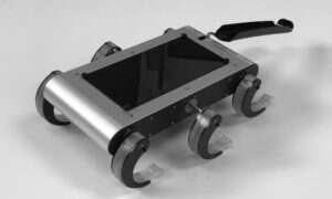 Robot T-RHex wspina się za pomocą mikrokolców