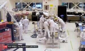 Od poniedziałku będziecie mogli oglądać proces konstrukcji łazika Mars 2020
