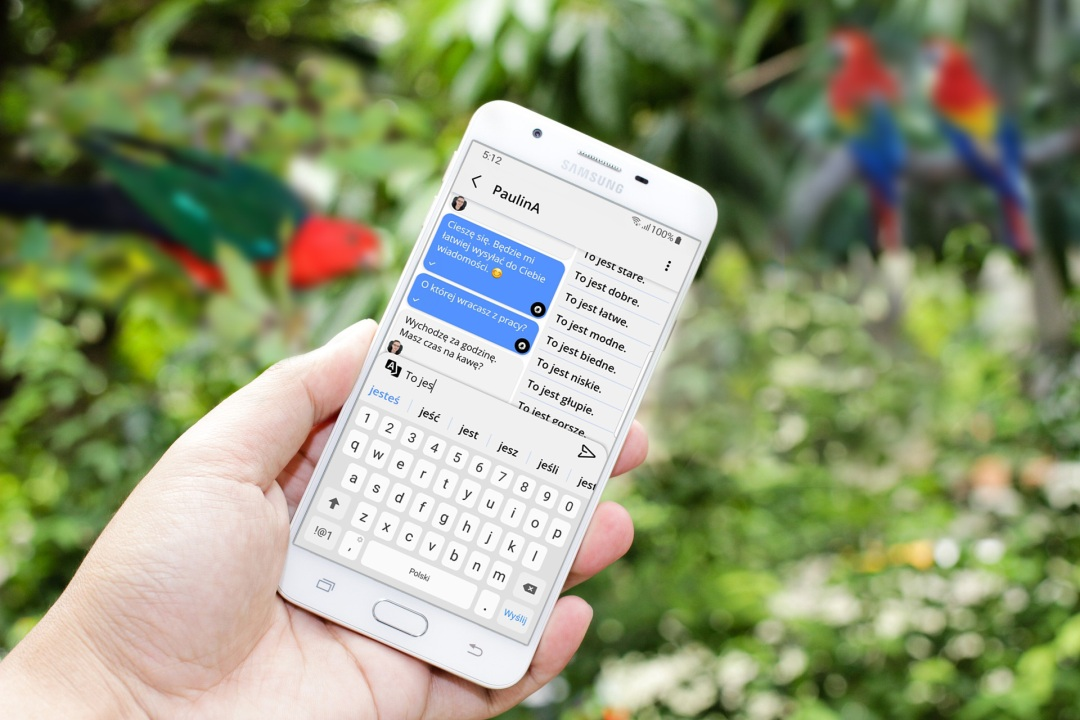 ParrotOne, aplikacja ParrotOne, play ParrotOne, pisanie ParrotOne, niepełnosprawni ParrotOne, premiera ParrotOne