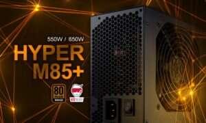 Test zasilacza FSP Hyper M85+ 550W