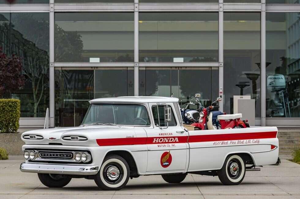 Honda odrestaurowała pickupa Chevrolet Apache 10 w imię historycznego spadku