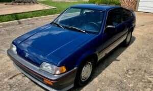 Praktycznie nowa Honda CRX HF 1986 do zgarnięcia