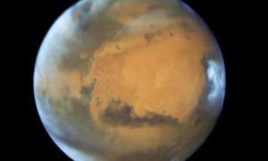 Marsjańskie chmury powstają dzięki meteorytom