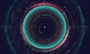 Niesamowita mapa pokazuje wygląd Układu Słonecznego