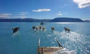 Letnie roztopy na Grenlandii rozpoczęły się znacznie wcześniej niż zazwyczaj
