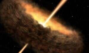 Czarne dziury mogą wspierać powstawanie życia
