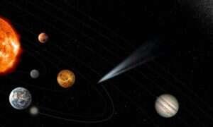 ESA zamierza zbadać kometę, która wleci do wewnętrznego układu słonecznego po raz pierwszy w historii