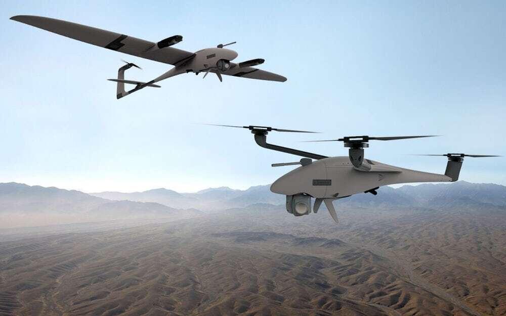 Quantum Scorpion i Vector, czyli dron 2w1 dla wojska