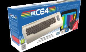 Retro konsola C64 to klon Commodore 64 o oryginalnym rozmiarze