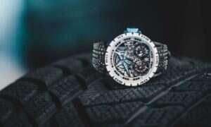 Nowa kolekcja zegarków Roger Dubuis używa zużyte opony Pirelli