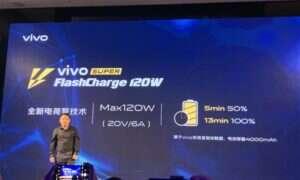 Vivo prezentuje szybkie ładowanie Super FlashCharge 120W