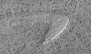 Naukowcy odnaleźli logo Star Trek na Marsie