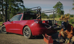 Truckla, czyli pickup z Tesla Model 3