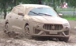 Maserati Levante wreszcie doczekał się prawdziwej przygody