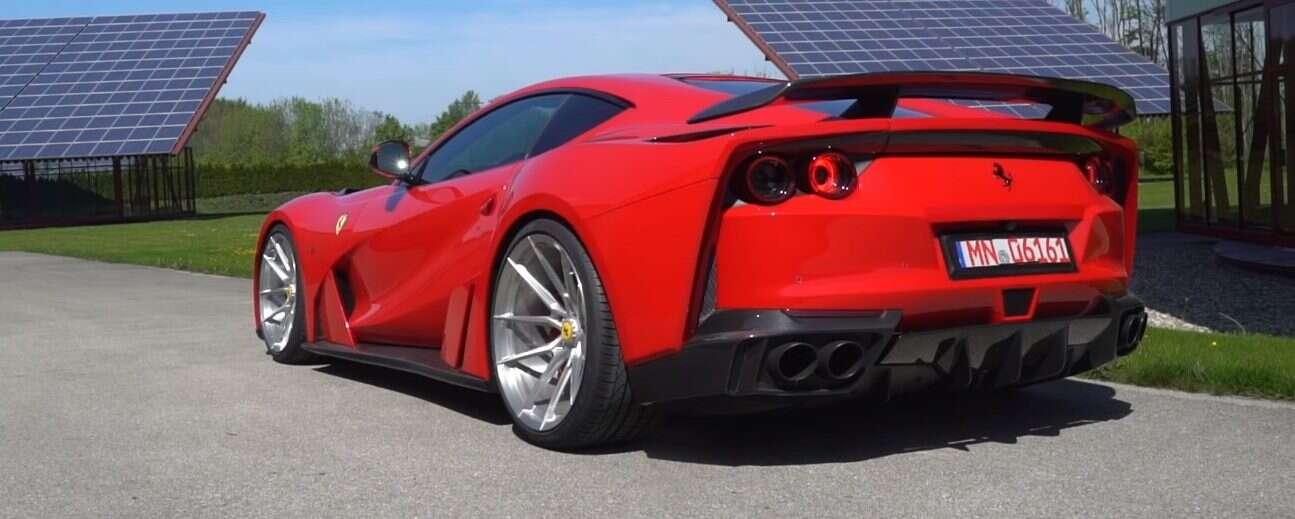 N-Largo 812 na bazie Ferrari 812 Superfast jest super-głośne