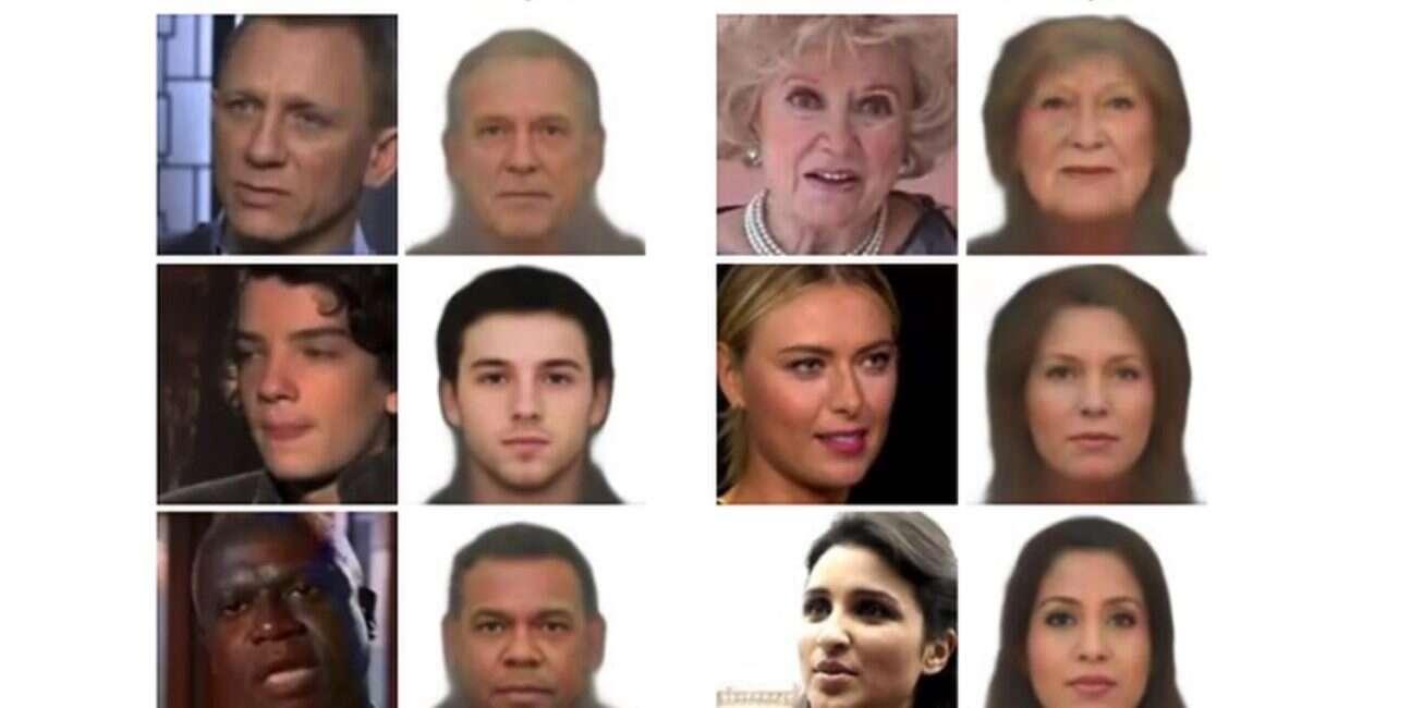 Sztuczna inteligencja generuje twarze