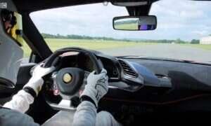 Ferrari 488 Pista nowym rekordzistą na torze Top Gear