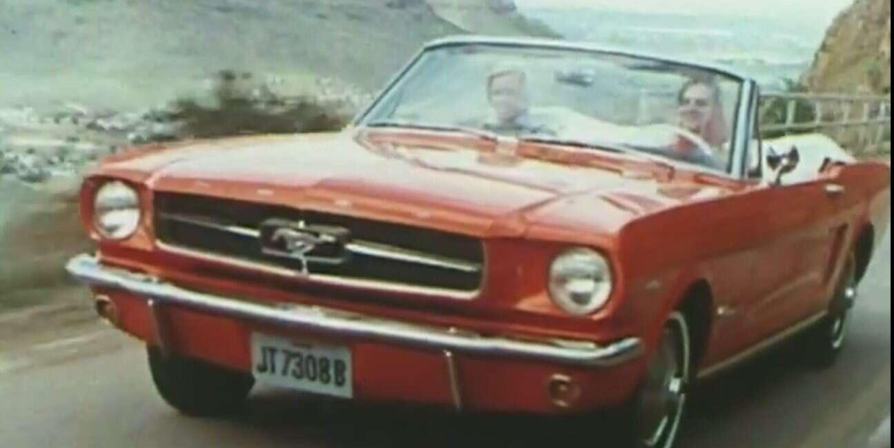 Oryginalny Ford Mustang zadziwiał praktycznością