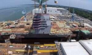 Amerykański lotniskowiec USS John F. Kennedy coraz bliżej zwodowania