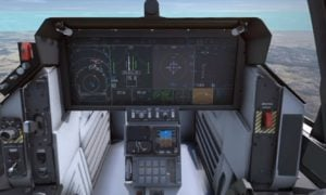 Odwiedź kokpit myśliwca F-35 w swoim fotelu