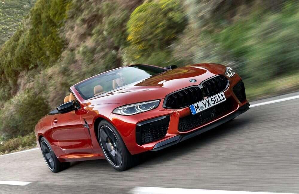 Seria samochodów BMW M8 już oficjalnie