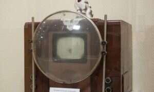 Sowieci oglądali telewizję ze szkłem powiększającym